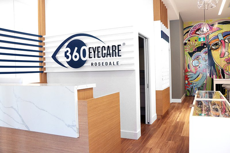 360 Eyecare Rosedale - Optometrist Office
